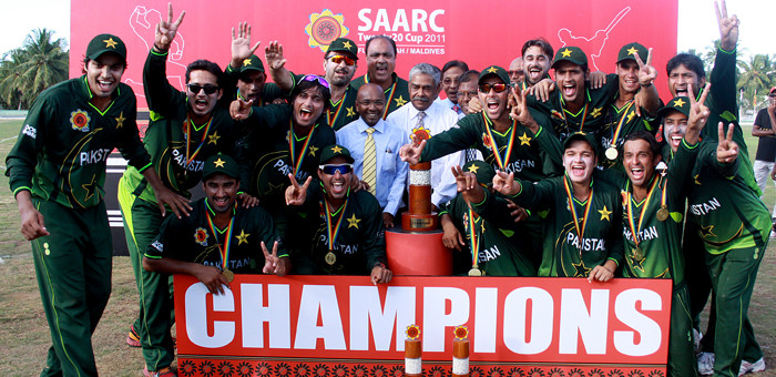 Pakistan are the SAARC Twenty20 Cup2011  Champions